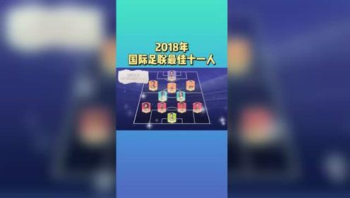2018最佳11人,阿扎尔入选,皇马3名后卫在内