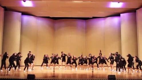 希林娜依·高 校园舞蹈社,美少女跳舞绝了!