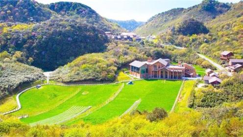 重庆夏日里的空调房:具有喀斯特地貌的金佛山,5A级旅游景区