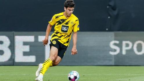 多特蒙德青春风暴,17岁小将乔瓦尼-雷纳德甲处子球
