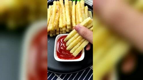 美食教程分享:你还在外面吃薯条吗?教你这样做比外面卖的都好吃