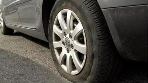 """真正的""""轮胎杀手""""并非钉子,这些不起眼的小东西,导致轮胎爆胎"""