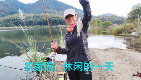 太平湖旅游度假区,湖边垂钓,品尝农家土菜