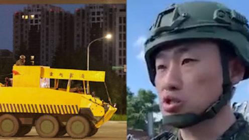 """台湾地区大秀""""伪装术""""把装甲车装成吊车做防御!网友:不知道热成像吗?"""