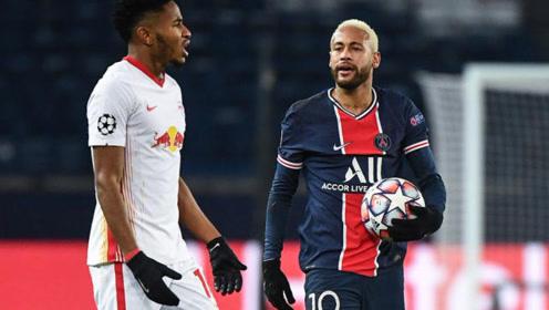 欧冠-迪马利亚造点内马尔点射建功 巴黎1-0莱比锡