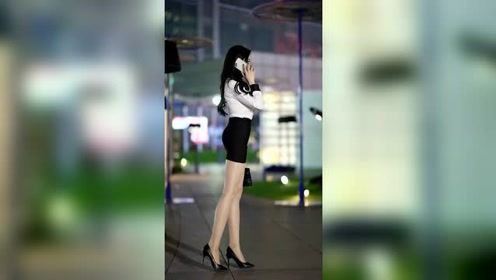 美女的身材真是绝了,这大长腿让人忍不住多看