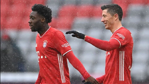 莱万、穆勒进球,拜仁主场2-1战胜弗莱堡!
