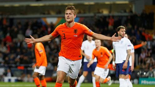 【纯享】荷兰3-1英格兰挺进决赛 拉什福德点射沃克乌龙