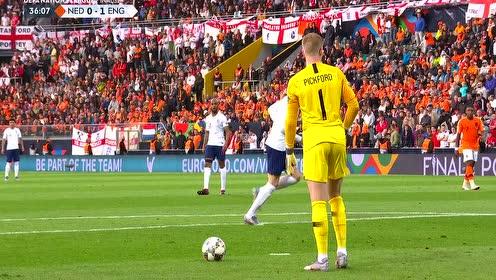 【原声】18/19欧国联半决赛:荷兰vs英格兰 全场回放