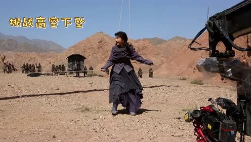 Behind the scenes: Strong wind during Ning Que and Sang Sang action scene | Ever Night S2