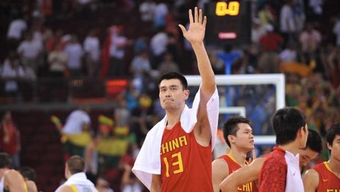08年奥运会姚明单挑诺维茨基集锦 25分11板助中国男篮晋级八强