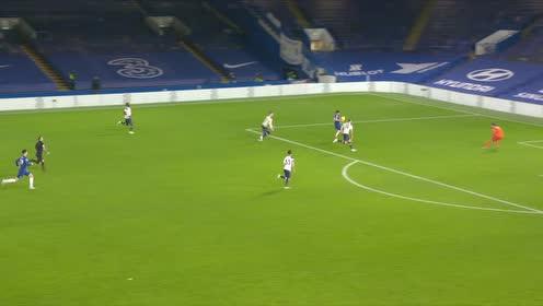 【官方】切尔西0-0热刺 维尔纳开场闪击毫米级越位被吹