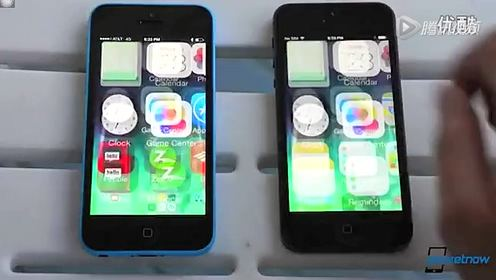 iPhone 5c vs. iPhone 5 对比www.jmstk.com