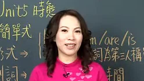 谢孟媛初级文法视频教程-英语提高_第8集