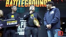 中国绝地求生战队IFTY韩国夺冠 A+大哥领奖时声音颤抖再三感谢观众!