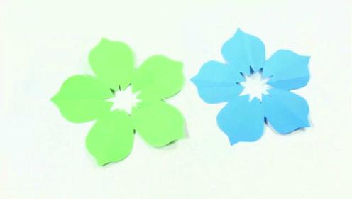 五瓣花剪纸图案大全