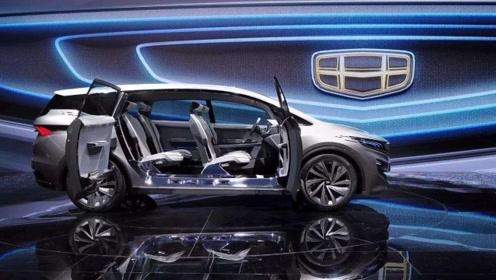 国产汽车攻坚力量,吉利首款MPV完美亮相