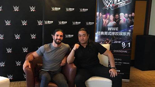 摔角网专访WWE超级巨星塞斯·罗林斯
