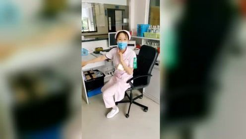 美女护士的日常下班,太搞笑了