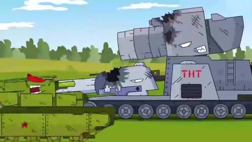 坦克世界搞笑动画:卡尔的小聪明,却被kv44无情打脸图片
