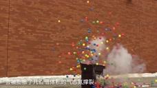 测试:-179℃液氮也能放烟花?过年禁放鞭炮,老外照样有法庆祝