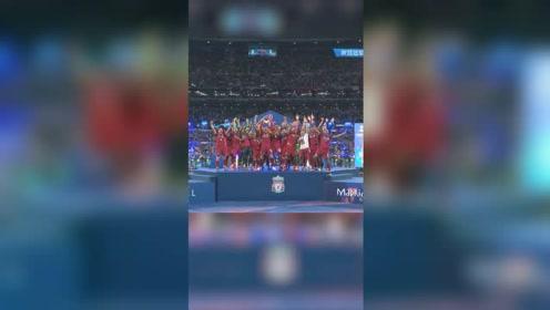 时隔十四年重回巅峰!利物浦2-0热刺夺得欧冠冠军