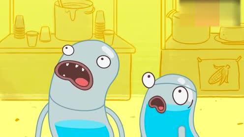 搞笑动画水滴也疯狂