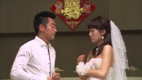 新婚之夜朋友们闹洞房,当新娘听到最后一个游