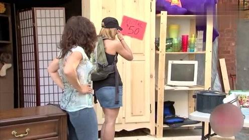 恶搞:女子把*牛藏在衣柜后,*牛时隐时现引路人