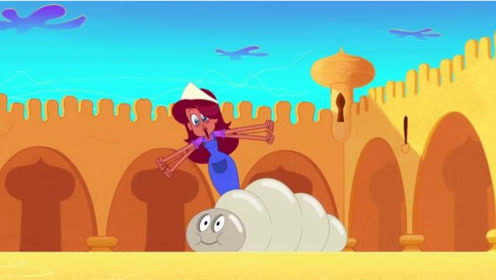 搞笑动画:美人鱼养了一屋子蚕,差点把城堡给