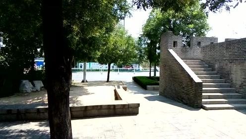 外地人游潍坊,实拍清朝古炮台