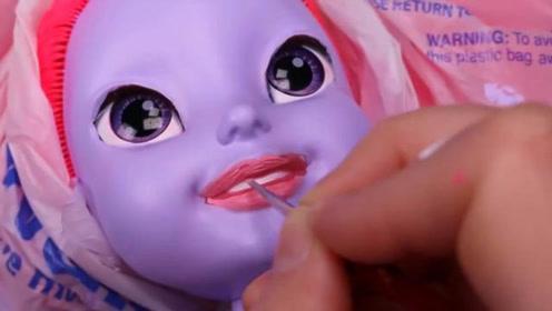 芭比美妆打扮秀:重新装扮改造后的泡泡糖公主漂亮吗?