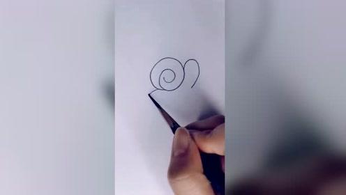 这么可爱的小蜗牛,小朋友们都学会了吗?