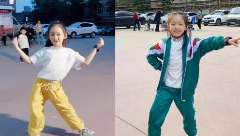 真是太有才了!会跳舞的小女孩舞姿形态动人,动感十足啊!