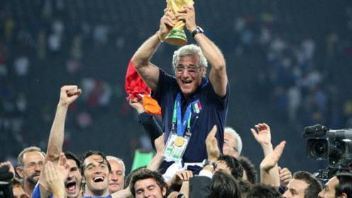 里皮执教生涯12个冠军回顾:世界杯、欧冠、亚冠的大满贯教练