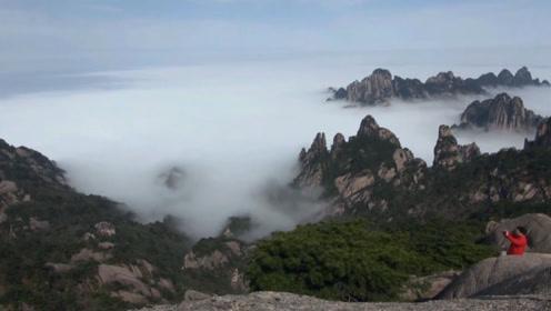 欣赏壮美的安徽黄山