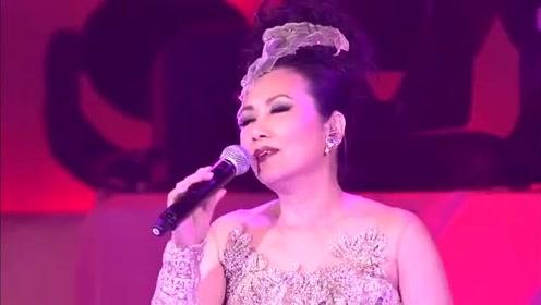 汪明荃怀旧粤语《用爱将心偷》,现场倾情演唱,两个字真美