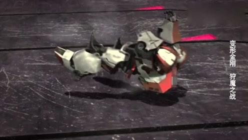 变形金刚-巨狰狞一直折磨救护车,但擎天柱还没找到霸天虎战舰