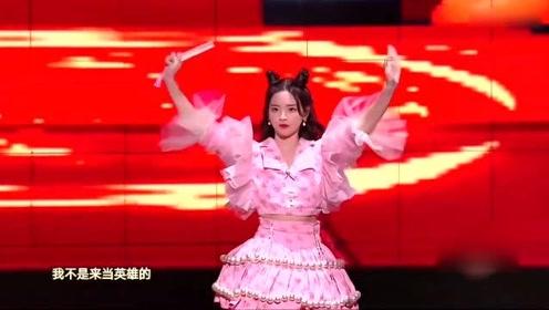 杨超越 张杰双十一晚会,首次合作,超越妹妹的舞蹈萌翻全场!