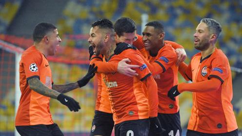 欧冠:顿涅茨克矿工2-0皇家马德里 比赛集锦!