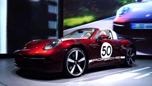 小姐姐体验911Targa特别版,处处是细节,年轻人的梦想之车!