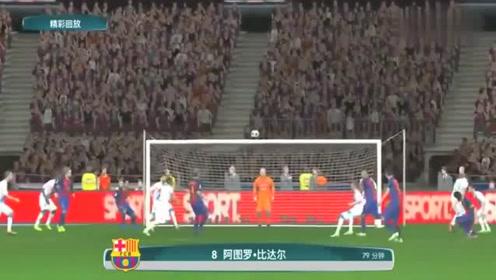 欧冠:梅西传射,苏亚雷斯进球,巴萨2比1击败那不勒斯