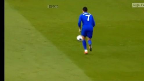 C罗曼联生涯欧冠倒数第二球