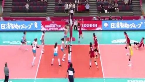 张常宁火力全开再拿10分,中国女排3-0阿根廷女排
