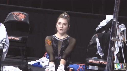 美国女子体操丨甜美小姐姐优雅的动作很吸引人