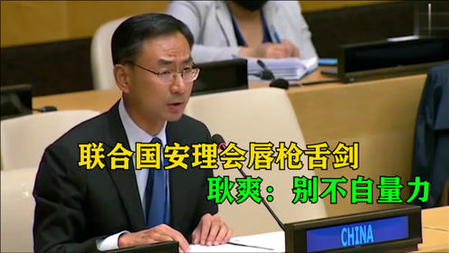 联合国对话激烈交锋,我国代表为国发声:你这