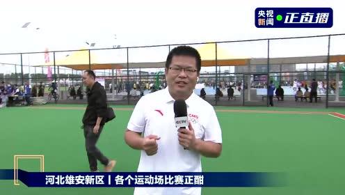 河北雄安新区丨安新县大健康体育公园正式开园