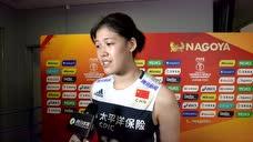【赛后】李盈莹:在场上达到了忘我的境界 有坚