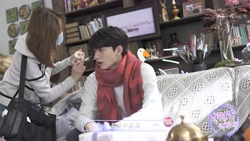 BTS: Xu Lu Teaches Lin Yi The Goose Song | Love Scenery