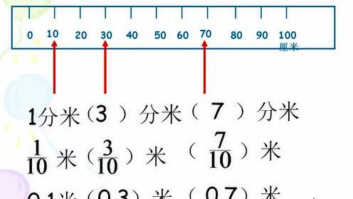 新人教版四年级数学下册4.小数的意义和性质